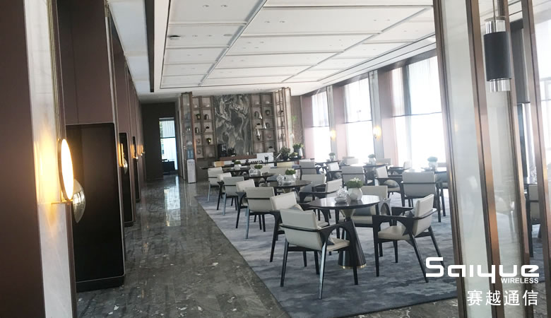 楼宇手机放大器安zhuang案例|成du中海云麓世jia